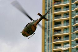 Helicopter over Surfers Paradise