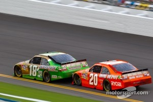 Kyle Busch, Joe Gibbs Racing Toyota, Joey Logano, Joe Gibbs Racing Toyota