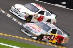 Brian Vickers, Red Bull Racing Team Toyota, J.J. Yeley, Whitney Motorsport Chevrolet