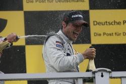 Podium: race winner Bruno Spengler, Team HWA AMG Mercedes, AMG Mercedes C-Klasse