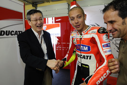 Valentino Rossi, Ducati Team with a Bridgestone VIP