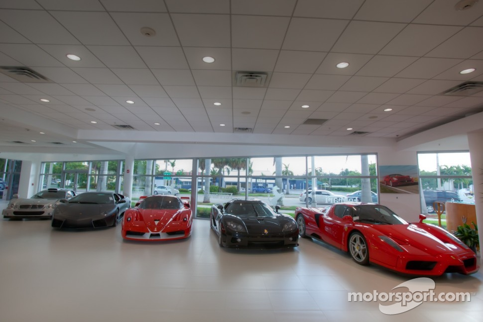 ferrari of fort lauderdale supercars in the showroom automotive. Cars Review. Best American Auto & Cars Review