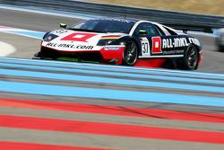 #37 All-Inkl.com Munnich Motorsport Lamborghini Murcielago 670 R-SV: Nicky Pastorelli, Dominik Schwager