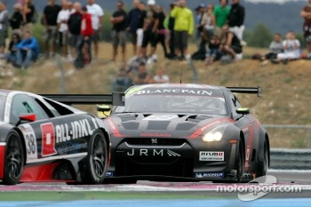#22 JR Motorsport Nissan GT-R: Peter Dumbreck, Richard Westbrook