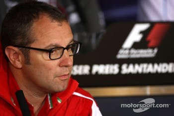 Stefano Domenicali Ferrari General Director