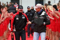 Timo Glock, Marussia Virgin Racing, Michael Schumacher, Mercedes GP F1 Team