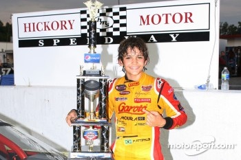 Limited Late Models race winner Pietro Fittipaldi
