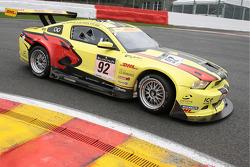 #92 Marc VDS Racing Team Ford Mustang FR500: Marc Duez, Jean-Michel Martin, Eric Bachelart