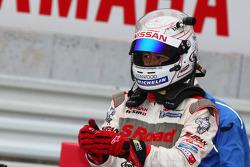GT500 Winner: #46 S Road Mola GT-R: Masataka Yanagida