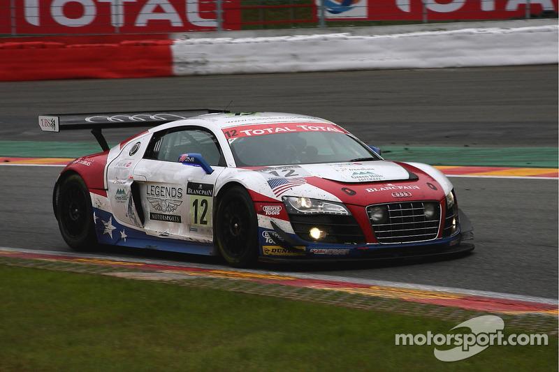 #12 United Autosports Audi R8 LMS: Arie Luyendyk, Alan Li, Richard Meins, Henri Richard