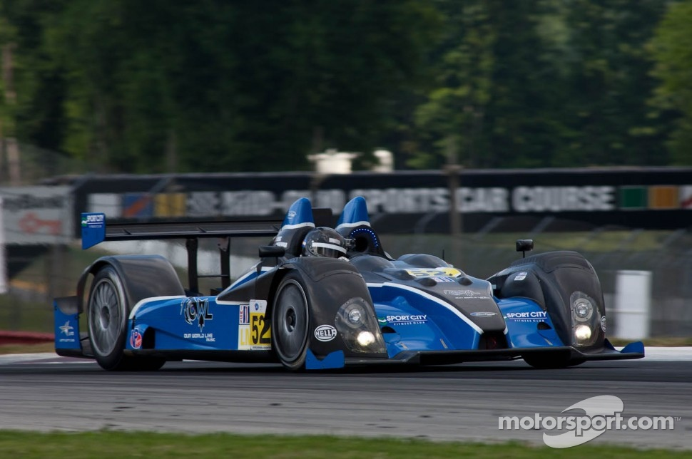 #52 PR1 Mathiasen Motorsports Oreca FLM09: David Cheng, Javier Echeverria