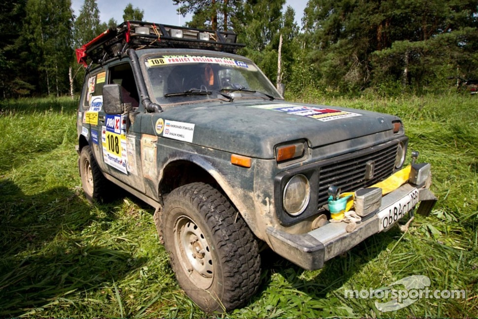 The Lada Niva in all its glorious standardness