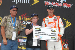 Joey Logano, Goodyear Gatorbacks Belts Fastest Lap Award