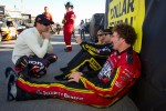 Alex Tagliani, Penske Racing Dodge with Owen Kelly, Petty Motorsport Ford and Boris Said, Chevrolet