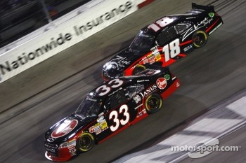 Clint Bowyer and Kyle Busch