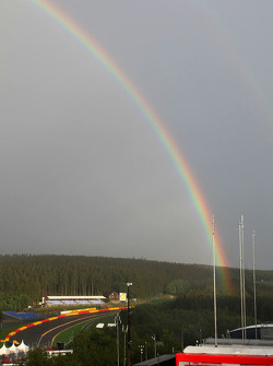 Rainbow over Spa-Francorchamps