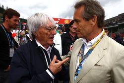Bernie Ecclestone and Jacky Ickx