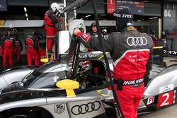#2 Audi Sport North America Audi R18 TDI: Tom Kristensen, Allan McNish