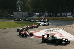 Valtteri Bottas leads Rio Haryanto