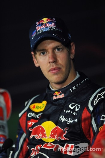 Press conference: race winner Sebastian Vettel, Red Bull Racing