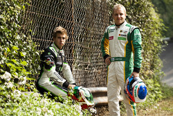 Antonio Felix Da Costa and Valtteri Bottas