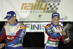 Mikko Hirvonen and Jarmo Lehtinen