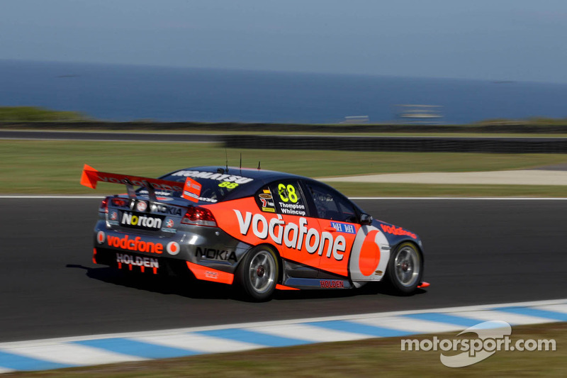 Triple Eight Race Engineering Holden Commodore: Jamie Whincup, Andrew Thompson