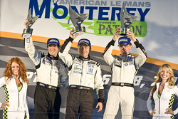LMP2 podium: class winners Scott Tucker, Christophe Bouchut, Luis Diaz