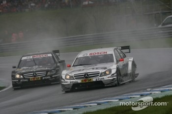 Jamie Green, Team HWA, AMG Mercedes C-Klasse and Gary Paffett, Team HWA AMG Mercedes C-Klasse
