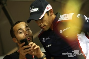 Nicolas Todt, manager of Felipe Massa, Scuderia Ferrari and Pastor Maldonado, Williams F1 Team