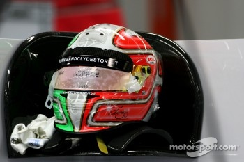 Helmet of Vitantonio Liuzzi, HRT F1 Team