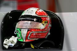 Helmet of Vitantonio Liuzzi, HRT F1 Team