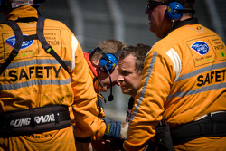 ALMS: Butch Leitzinger after his crash
