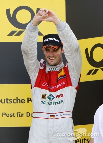 Podium: third place and championship winner Martin Tomczyk
