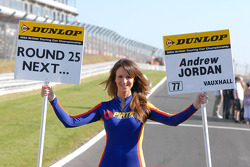 Pirtek Racing Grid Girl to Andrew Jordan