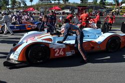 #24 Oak Racing Oak Pescarolo Judd: Jean-François Yvon, Olivier Pla, Alexandre Premat