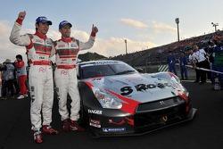GT500 champions Masataka Yanagida and Ronnie Quintarelli