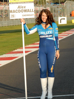 Silverline Chevrolet Grid Girl, Sophie Fisher