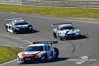 #22 United Autosports Audi R8 LMS: Mark Patterson/Joe Osbourne