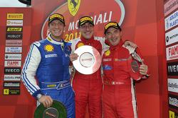 Coppa Shell Ferrari Italia race 2 podium