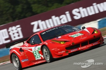 #58 Luxury Racing Ferrari F458 Italia: Anthony Beltoise, Dominik Farnbacher, Ralph Firman