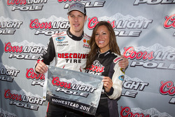Pole winner Brad Keselowski, Penske Racing Dodge