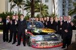 NASCAR Camping World Truck Series champion driver Austin Dillon, RCR Chevrolet with his team