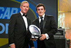 NASCAR Camping World Truck Series champion driver Austin Dillon, RCR Chevrolet receives the most popular driver award
