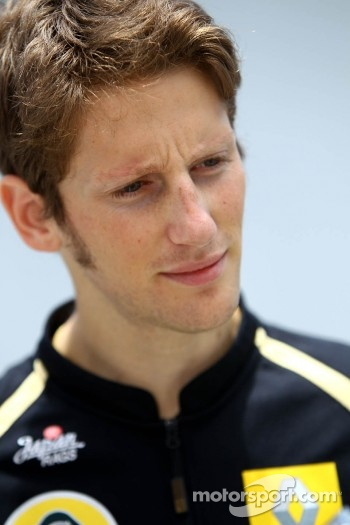 Romain Grosjean, , Lotus Renault GP