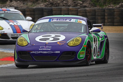 James Bacus 2009 Hippie Porsche Cayman Interseries