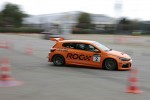 VIPs go for a spin during track tests