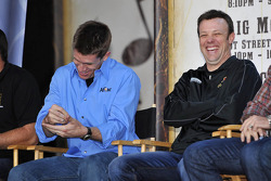 Carl Edwards and Matt Kenseth
