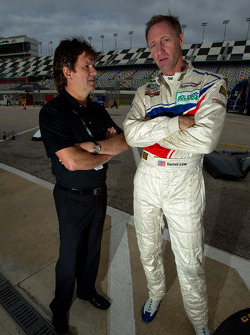 Wayne Taylor and Darren Law