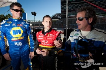 Michael Waltrip, Robert Kauffman and Kevin Buckler